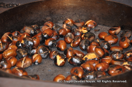 Roasted Chestnuts in Paris