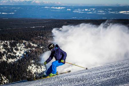 Skiing is such an adrenalin pumping activity