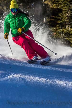 Skiing like a pro